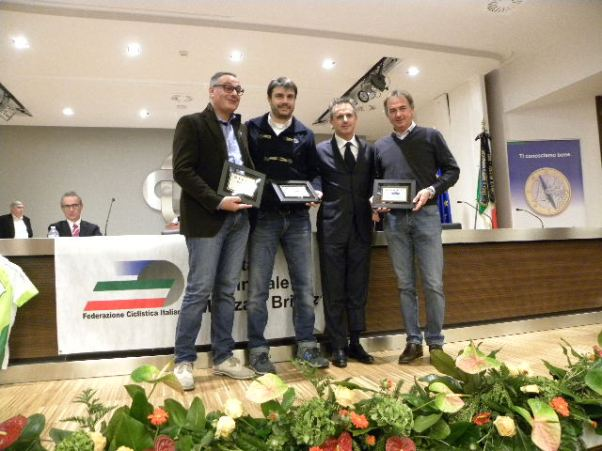 Canzi, Sala, uno Sponsor e Perego (Foto Nastasi)