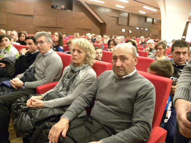 da dx, Sergio e Rosa Casartelli con Walter Zini (Foto Nastasi)