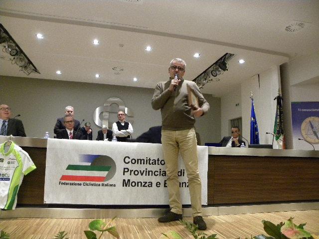 Sapi Franco con Chioccia d'Oro della Brugherio Sportiva (Foto Nastasi)