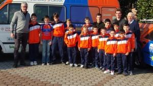 29.11.15 - Chirico con atleti e auto Brugherio Sportiva