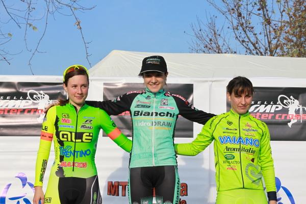 Chiara Teocchi vincitrice gara open a Brugherio (Foto Kia)