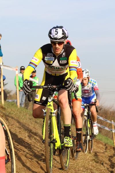 Lorenzo Calloni Juniores in azione (Foto Kia)