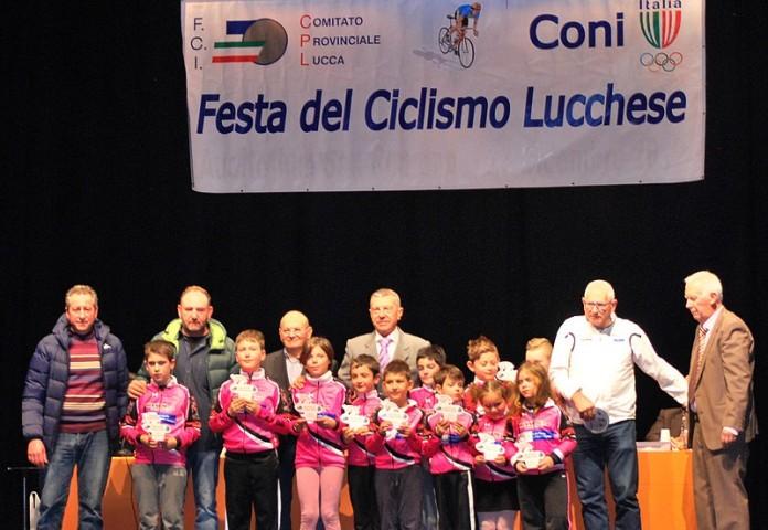 Premiazione miniciclisti (Foto Ferruccio Possenti)