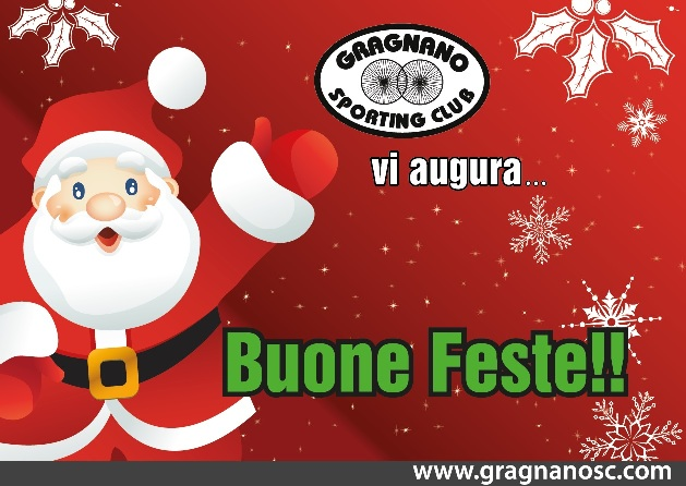 29.12.15 - AUGURI FESTE FINE ANNO DAL GRAGNANO SPORTING CLUB