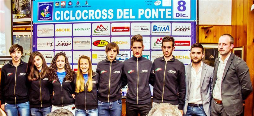 (Foto Billiani) - Presentazione 14^ Ciclocross internazionale del Ponte
