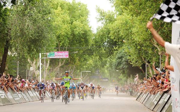 Tour de San Luis 2010 - Francesco Chicchi vince una tappa in livrea Liquigas