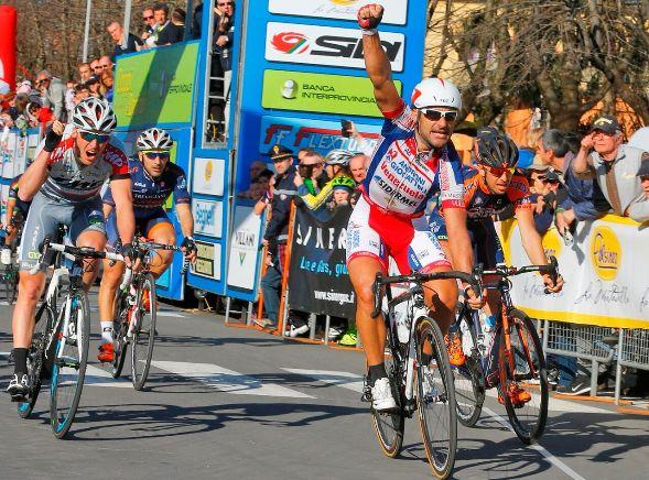 Settimana Coppi e Bartali La vittoria di Chicchi a Crevalcore
