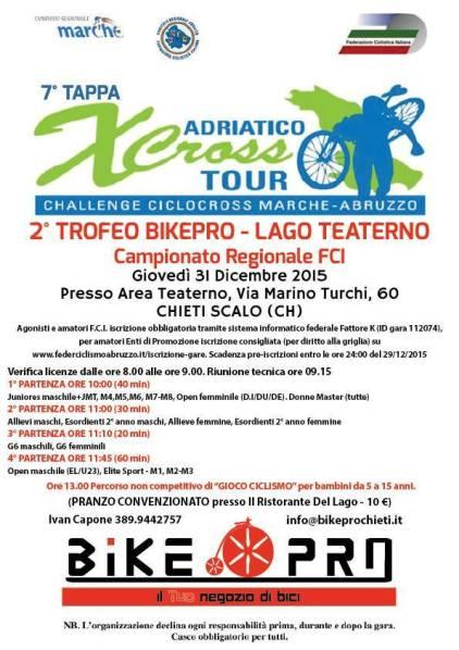 30.12.15 - Ciclocross Trofeo Bike Pro 2015 locandina
