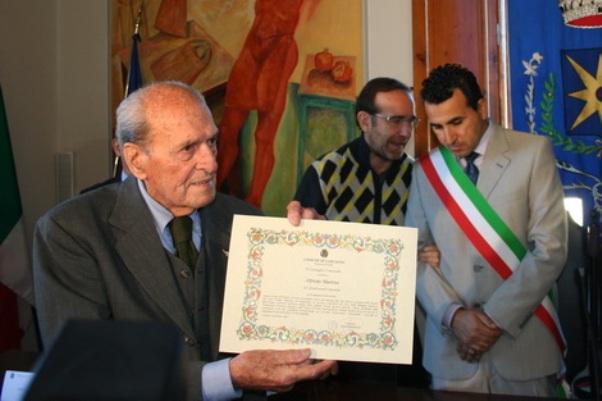 Martini Cittadino Onorario di Larciano