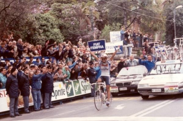 Claudio Chiappucci, Mi/San Remo 1991