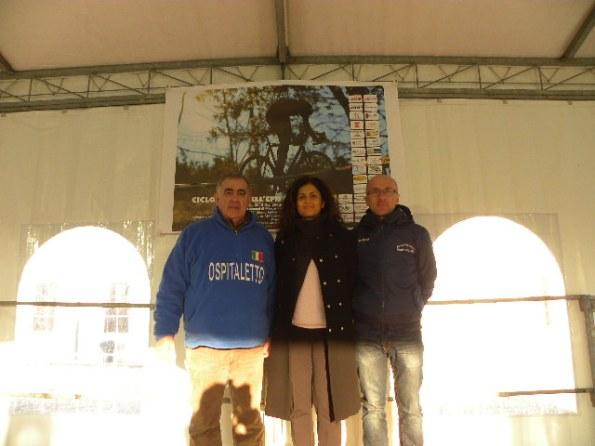 Armanini, Ass. Sport prov Mantova, Francesca Zaltieri e Pezzini (Foto Nastasi)