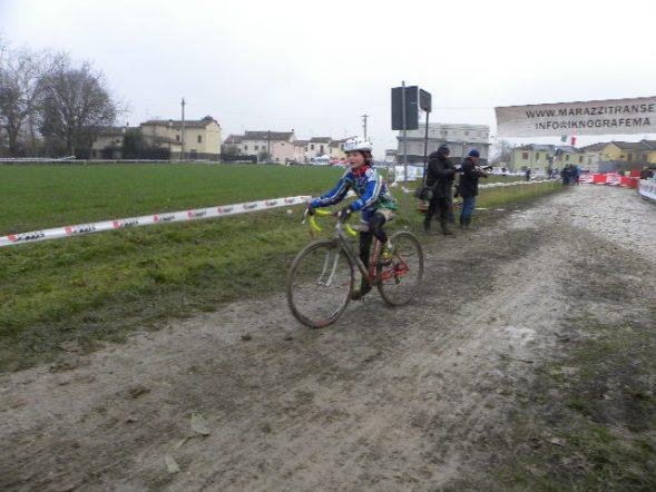 Milena Carpene vincitrice gara Donne Esordienti 1^ anno (Foto Nastasi)