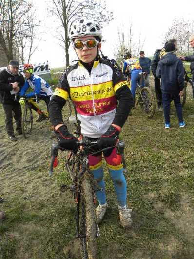 Nicola Bernardi, 3^ classificato tra gli Esordienti 2^ anno (Foto Nastasi)
