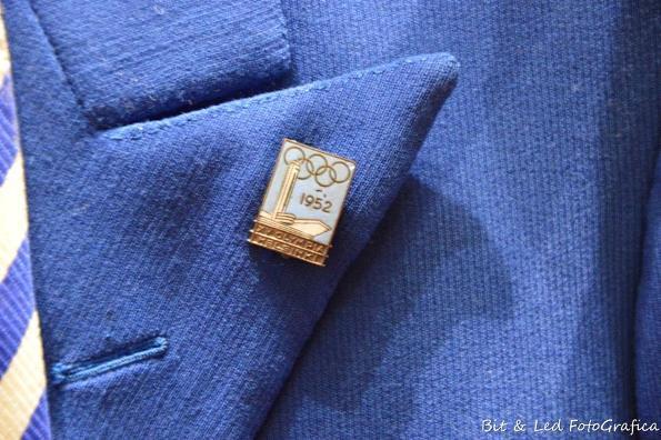 Il distintivo Olimpico di Bruno Monti