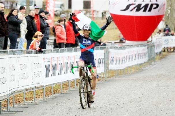 Flavio Zoppas TRICOLORE categoria M5 (Foto Scanferla)