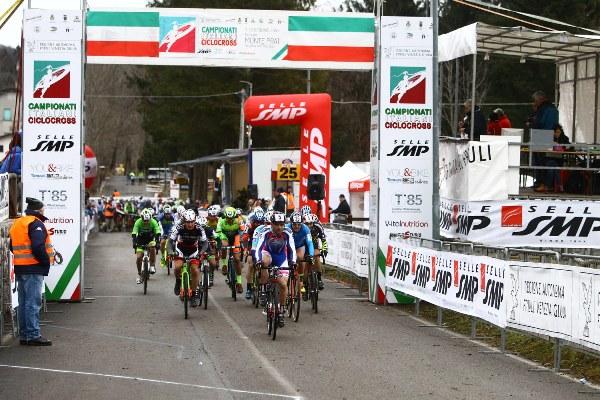 Campionato Italiano Ciclocross - Una Partenza Master (Scanferla)
