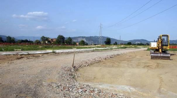 Lavori Ciclodromo Ponte Buggianese
