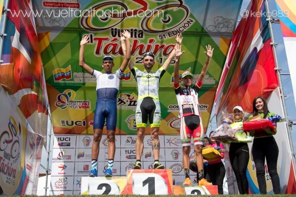 Eugenio Bani sul gradino più^ alto del podio