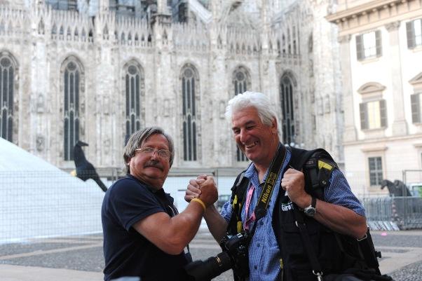 Da sx, Antonio Pisoni e Remo Mosna (Foto Natascia Graziola Mosna)