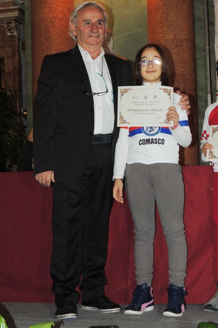 Il Presidente CP-FCI Como, Franco Bettoni