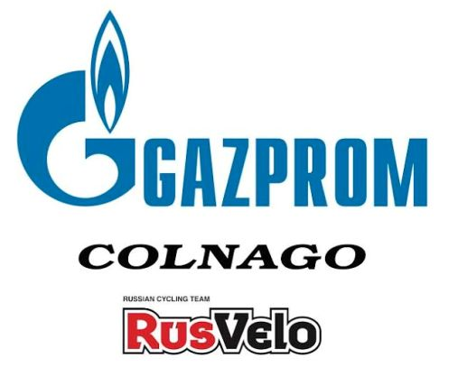 21.01.16 - LOGO - Gazprom-RusVelo Logo