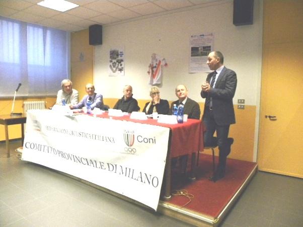 Cordiano Dagnoni, Presidente F.F. del CRL al Convegno milanese (Foto Nastasi)