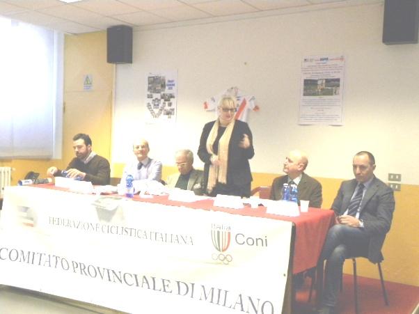 Intervento di Daniela Isetti, Vicepresidente Vicario FCI (Foto Nastasi)