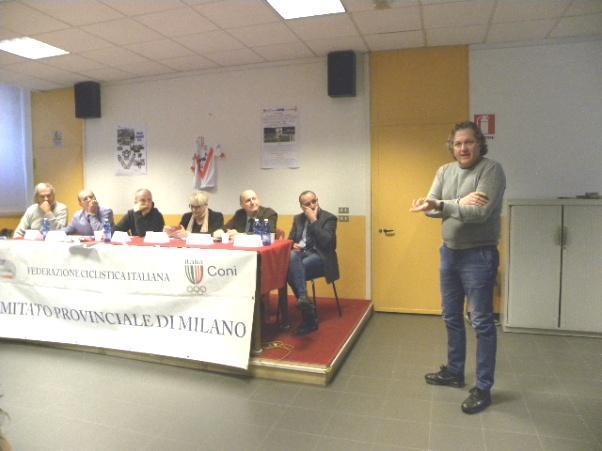L'intervento di Corrado Lodi, Consigliere Nazionale FCI (Foto Nastasi)
