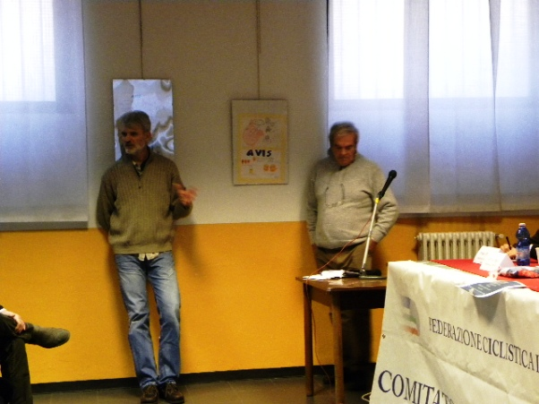 Stefano Peruch, Presidente Comitato Vigorelli (Foto Nastasi)