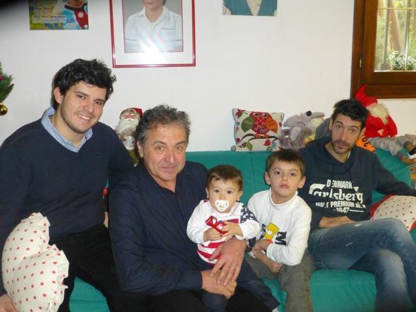 da sx, Gianmarco, Aldo, Matteo Felice, Federico e Alessandro