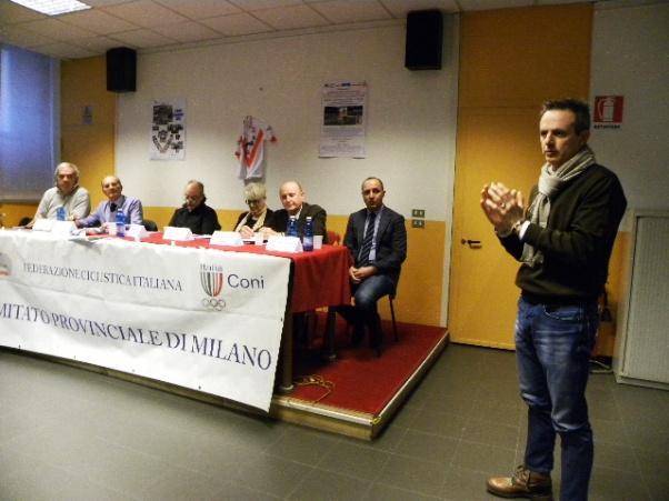 L'Intervento di Fabio Perego, Consigliere Regionale Lombardo FCI (Foto Nastasi)