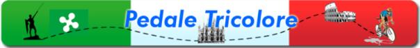 25.11.2015 -  Logo di Pedaletricolore.it - Ciclista Duomo Roma