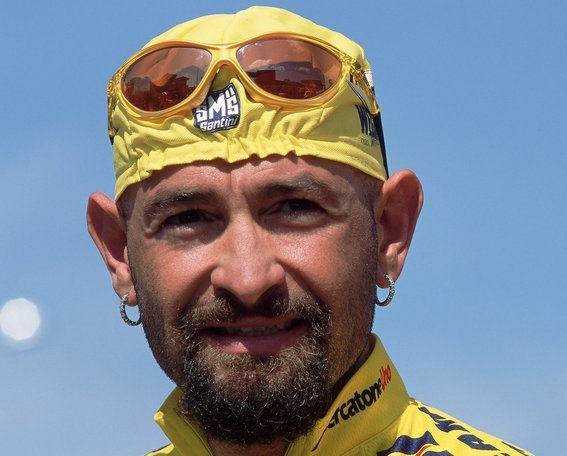 26 Mar 2001:  Portrait of Marco Pantani of Italy at the Tour Of Catalonia, Spain.  Mandatory Credit: Pascal Rondeau /Allsport