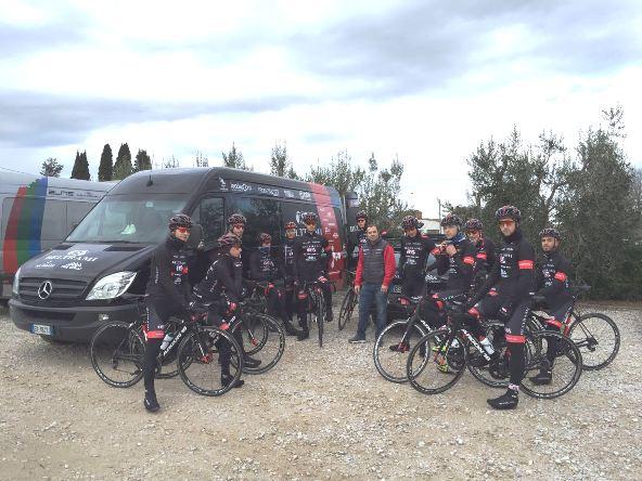Il Team a Riotorto