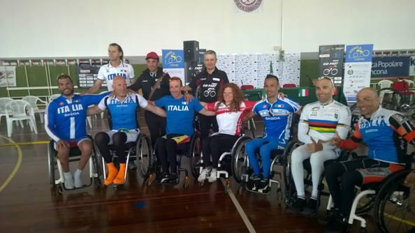 Squadra Go-Fast e Nazionale Italiana Paraciclismo