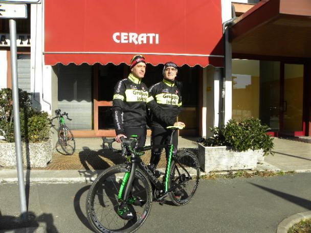 Dr Fabrizio Iseni e Mario Lanzafame (Foto Nastasi)
