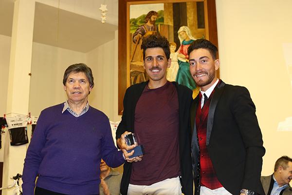 Giacomo Nizzolo col compagno di squadra, Eugenio Alafaci (Foto Kia Castelli)