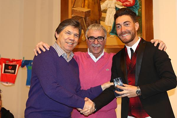 Al centro, Paolo Nizzolo (Foto Kia Castelli)