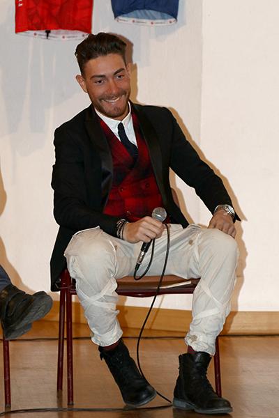 Giacomo Nizzolo in primo piano (Foto Kia Castelli)
