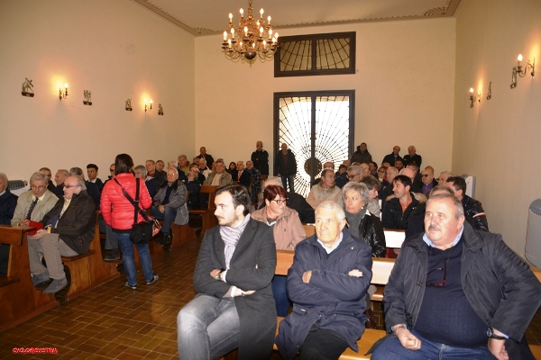 CASTYELLANIA, NOVEMBRTE 2015 CHIESA DI CASTELLANIA - PREMIAZIONI CORRIDORI E SQUADRE (Foto Cyclo@system)