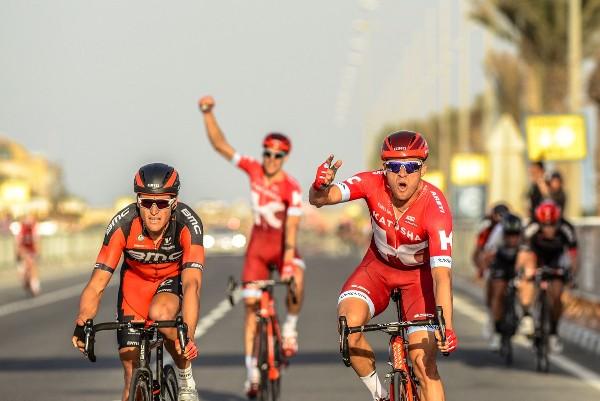 Kristoff vince la 4^ tappa del Giro del Qatar (Foto A.S.O.)