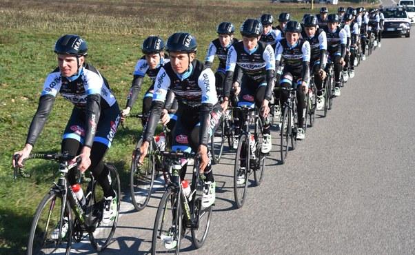 Squadra Colpack in allenamento (Foto Rodella)
