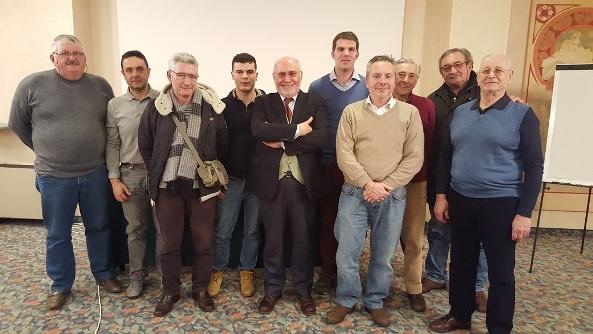 Gruppo Dirigenti e Collaboratori del Velodromo di Fiorenzuola