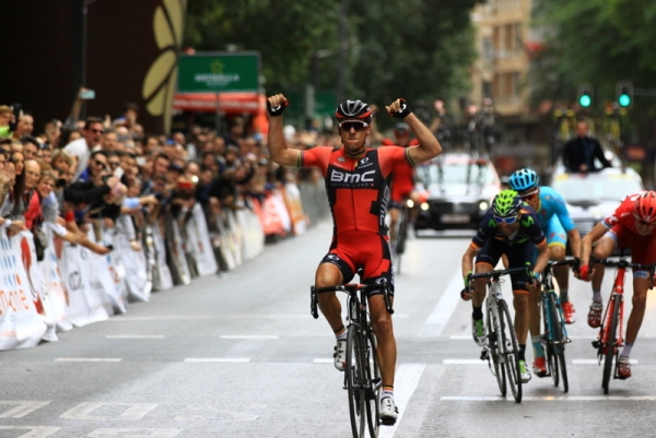 La vittoria di Philippe Gilbert allo sprint (Foto Jean Claude Faucher)