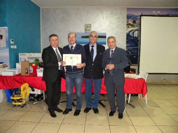 Premiazione Presidente FCI-MI, Valter Cozzaglio (Foto Nastasi)