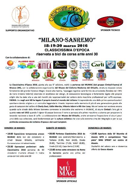 14.02.16 - MI-SANREMO CLASSICISSIMA STORICA -