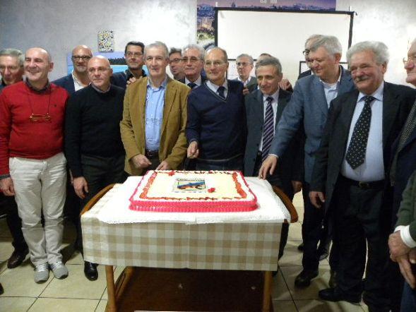 Taglio della torta del 70^ (Foto Nastasi)