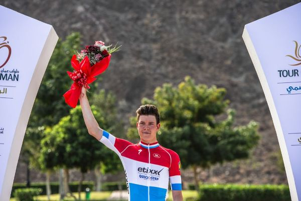 Tour of Oman 2016 - 16/02/2016 - Stage 1 : Oman Exhibition Center - Al Bustan ; 145,5 km - JUNGELS Bob, Etixx-Quick Step, vainqueur du jour, winner of the day