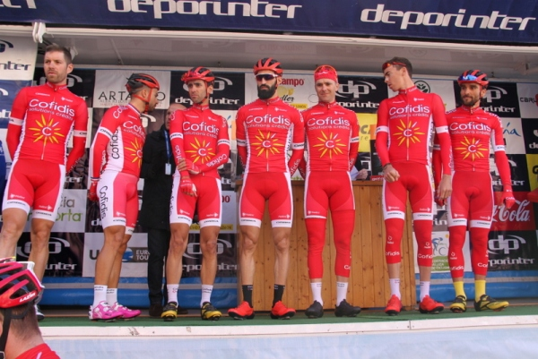 Squadra Cofidis (Foto JC Faucher)