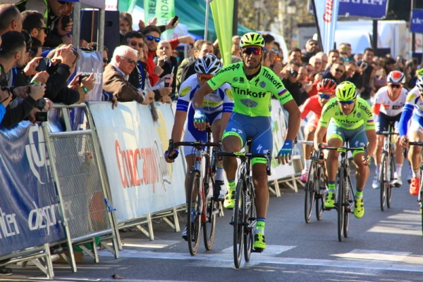 Daniele Bennati sigla a Siviglia la sua 52^ vittoria in carriera (Foto JC Faucher)